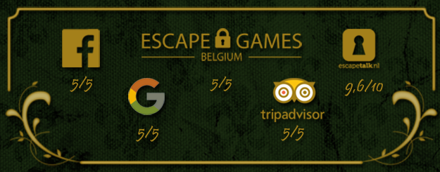 Ratings Escape House Emerantia Leuven